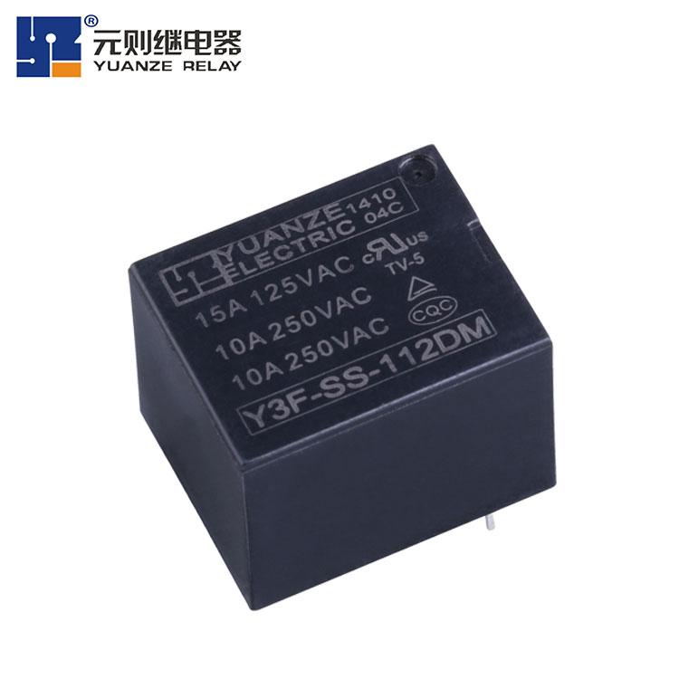 小型12vT73继电器厂家-Y3F