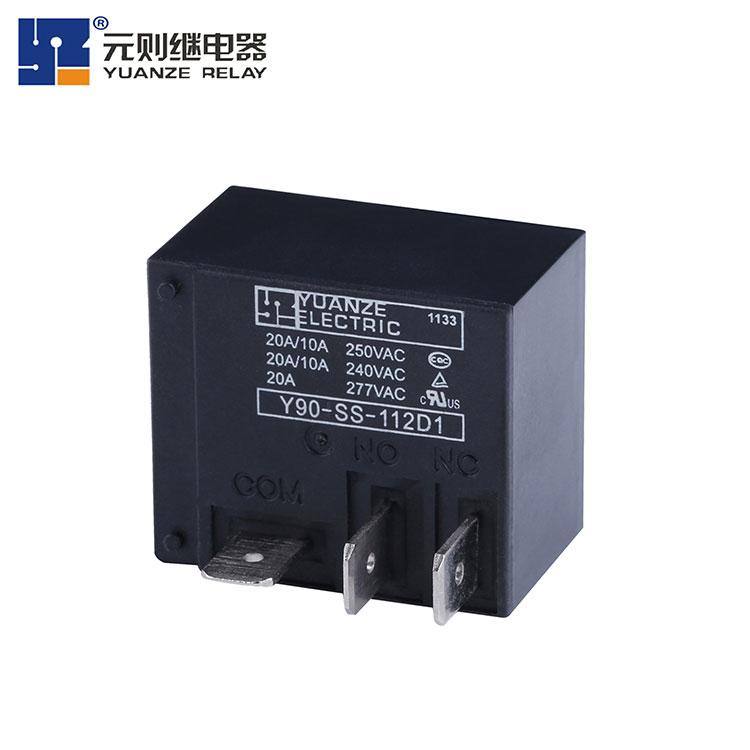 转换20a小型继电器厂家-Y90-1