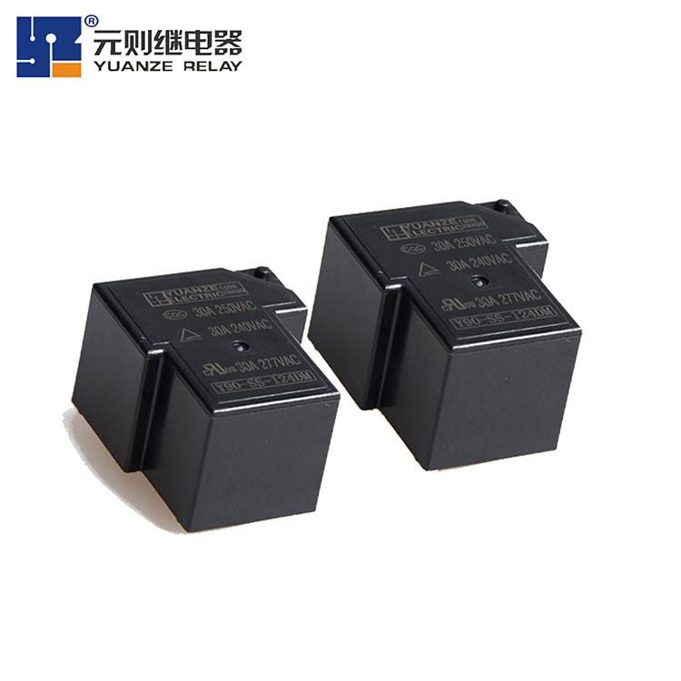 电磁继电器工作原理及组成部件