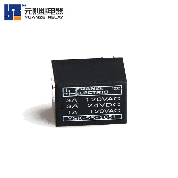 小型12v6脚信号继电器-YSK