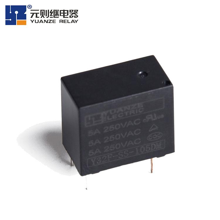 5v4脚小型继电器-Y32F