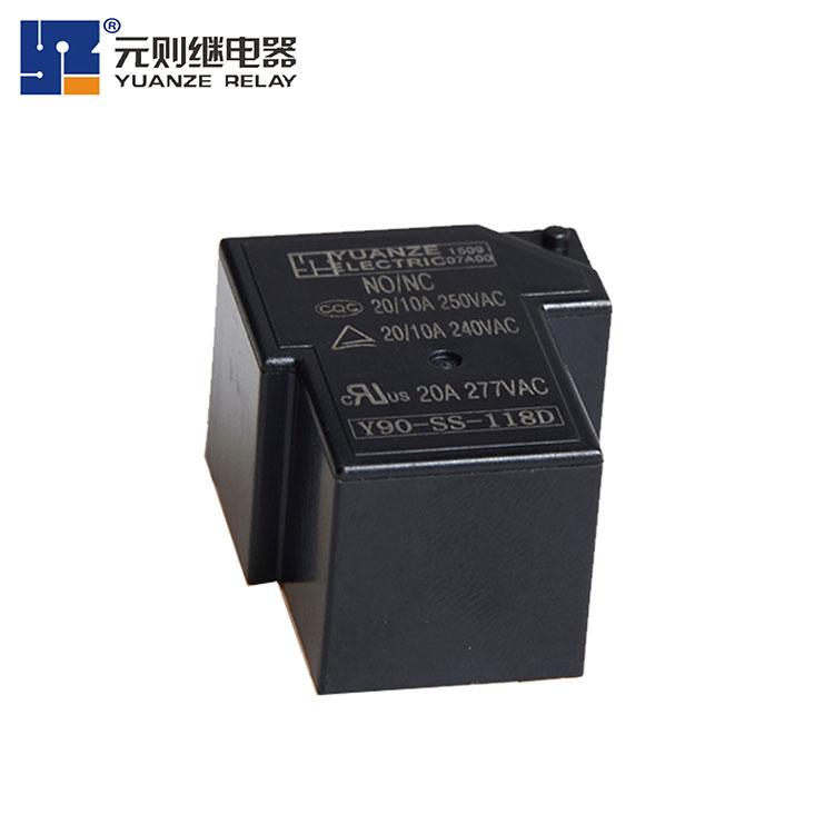 18V5脚小型继电器-Y90