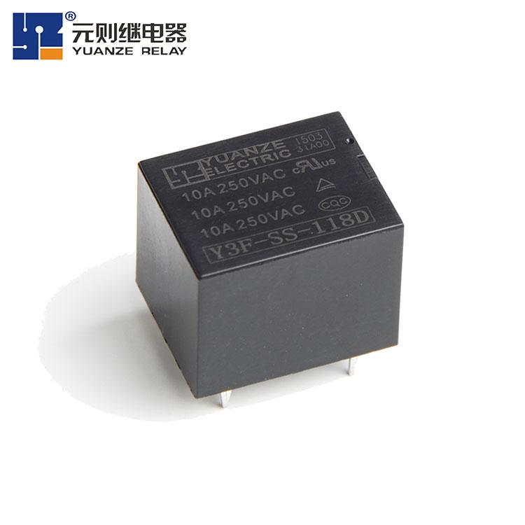 18V小型5脚继电器-Y3F