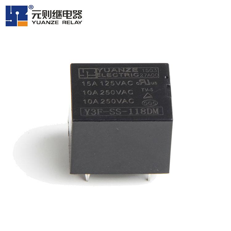 18V小型电磁炉继电器-Y3F