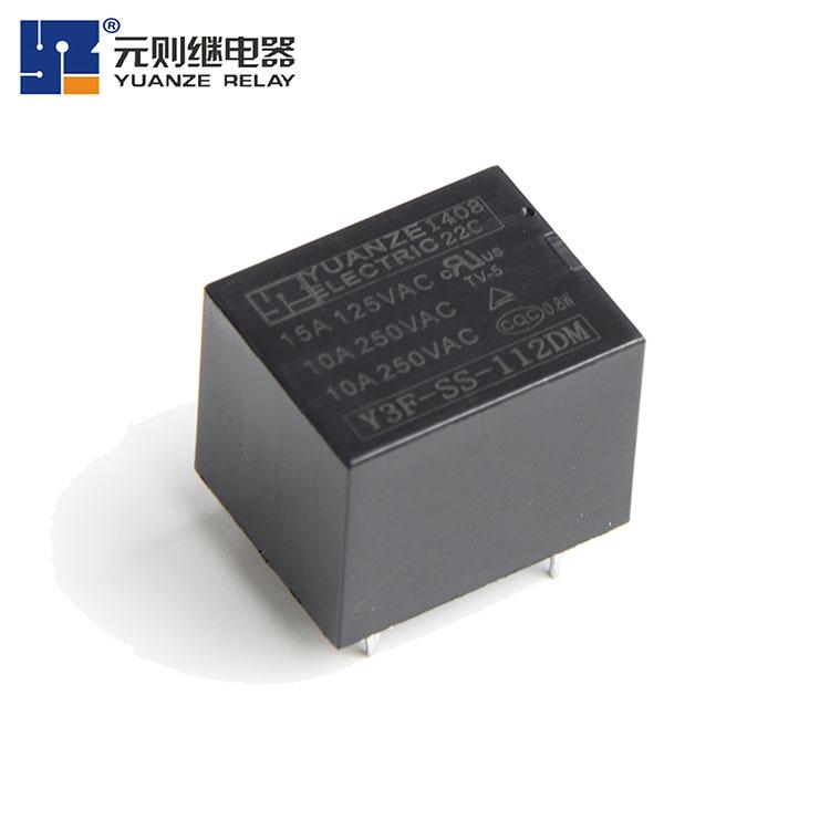 JQC-3FF继电器12V-Y3F