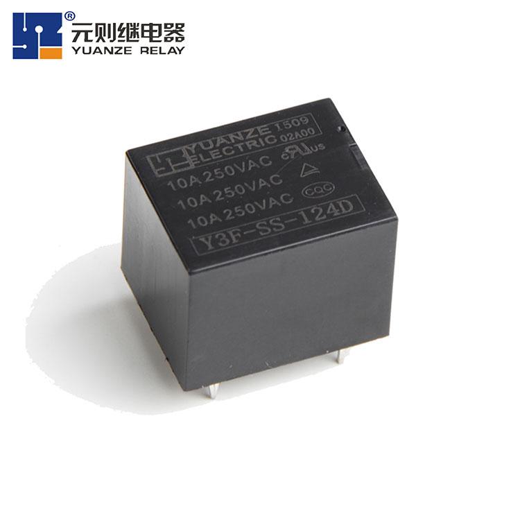 24伏电磁继电器10A-Y3F