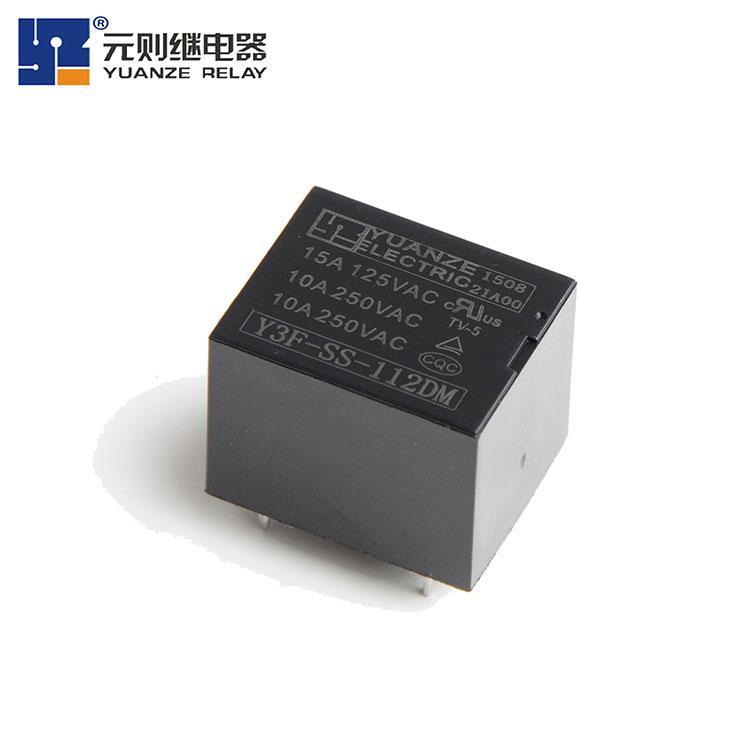 12伏家电继电qi15A-Y3F