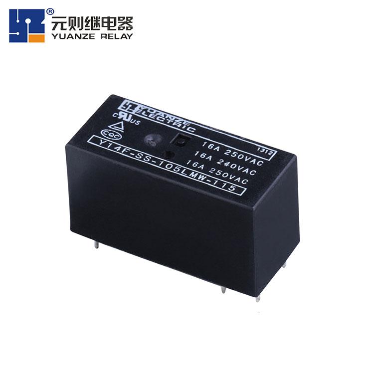 小型16a功lv继电器-Y14F-115