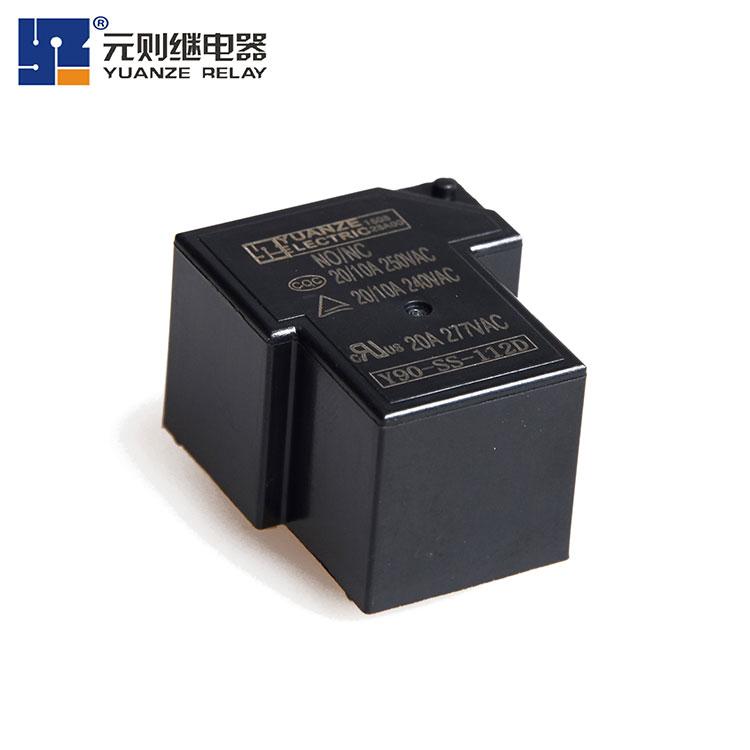 12v电磁炉继电器5脚-Y90