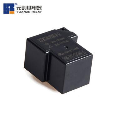 大功率继电器的电路符号与触点形式