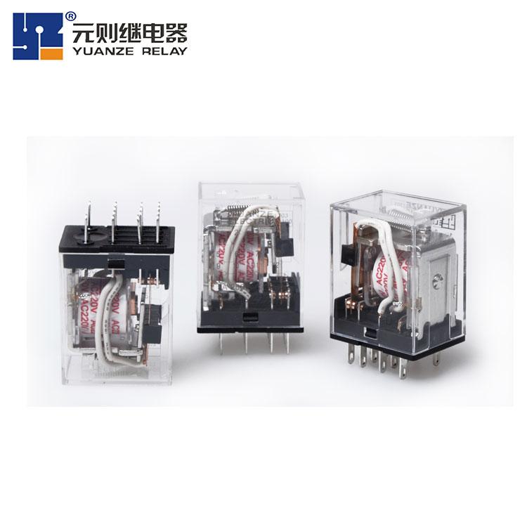 [HH52P小型继电器]元则电器厂家直销,更优惠!