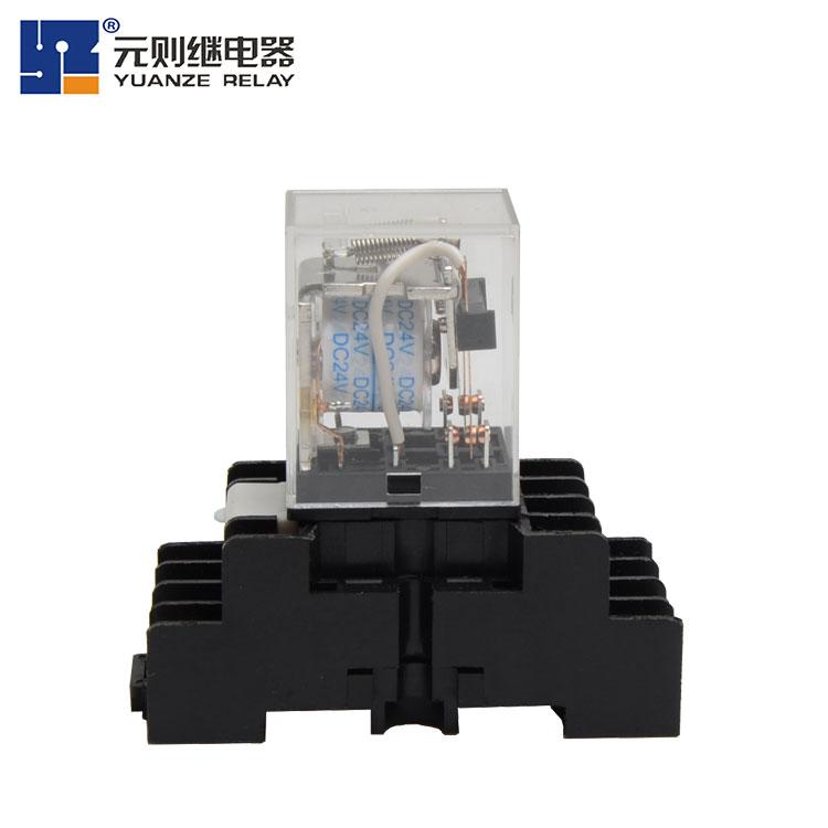 JQX-13F(D)小型继电器8脚-工控产品