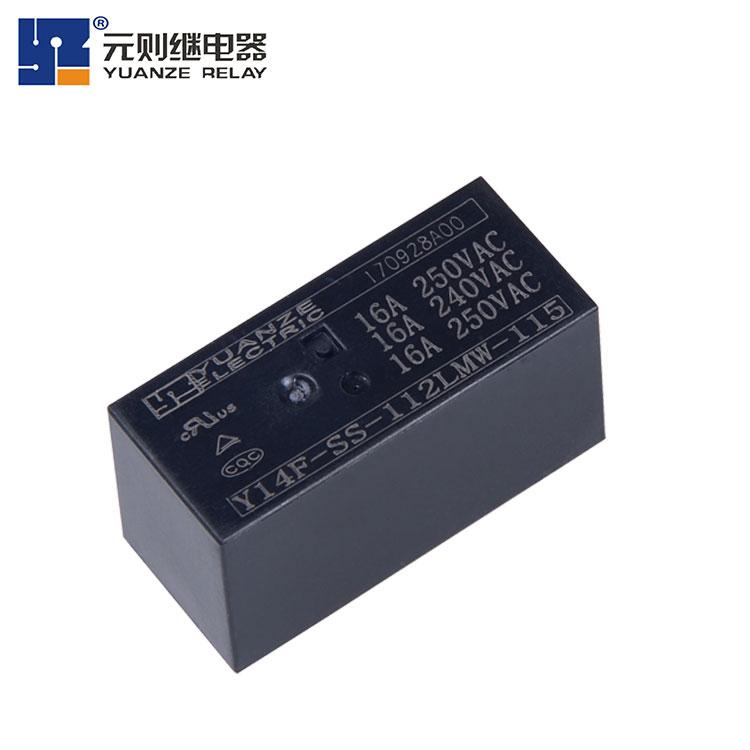 12v继电器16a-Y14F-115