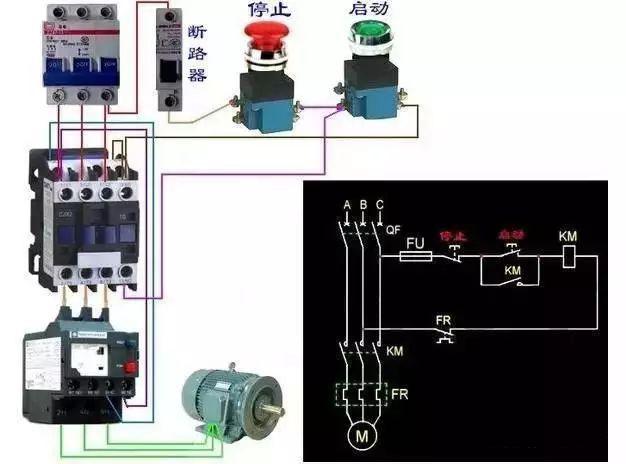 关于热继电器的型号和电器图介绍