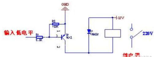一秒看懂电磁继电器的电路图